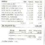 Ceny picia w Chorwacji